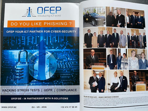 OFEP Société Informatique Top Rated In Brussels Web, Consultancy And Cybersecurity.